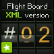 Terminal flight board text animation XML version - ActiveDen Item for Sale