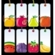 Set of Fruit Tags - GraphicRiver Item for Sale