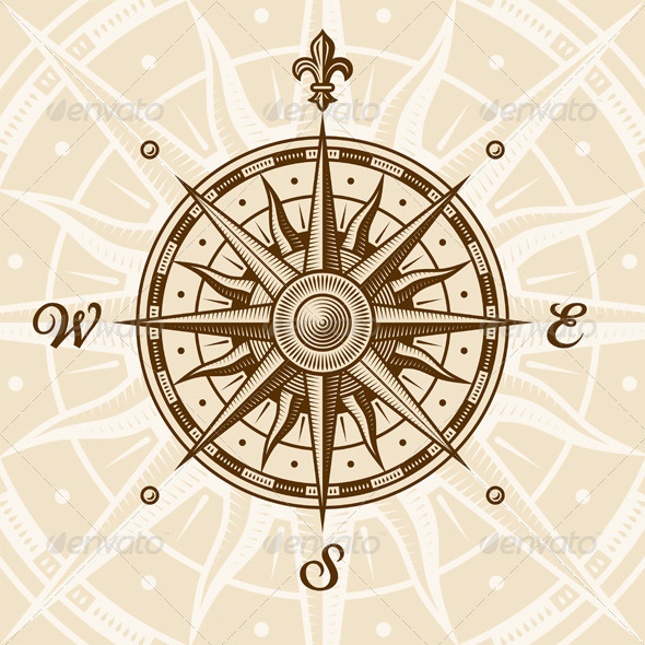 Nautical Compass Stencil » Tinkytyler.org - Stock Photos ...