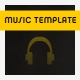 Music Template - ActiveDen Item for Sale