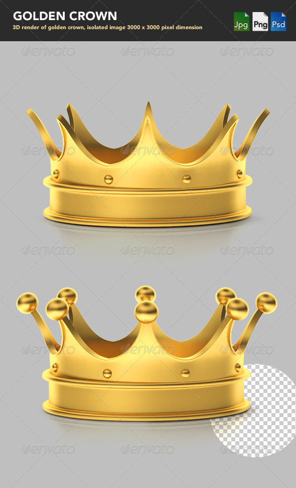 GraphicRiver Golden Crown 1739377