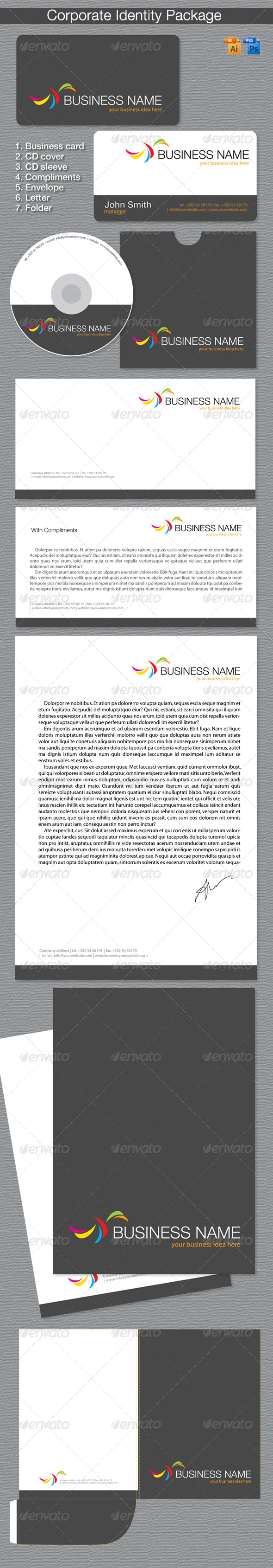 GraphicRiver Corporate Identity Package 204940