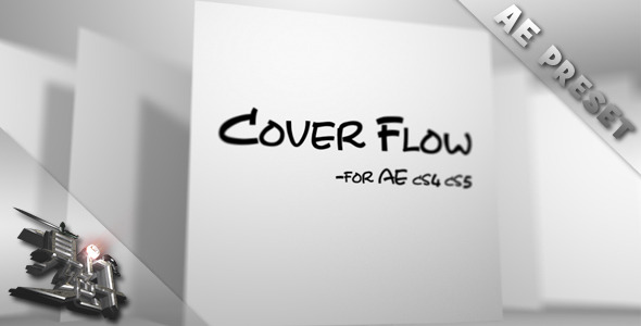 After Effects Project - VideoHive Cover Flow 555665
