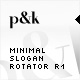 AS2 XML Minimal Slogan Rotator R1 - ActiveDen Item for Sale