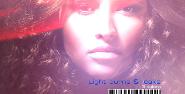 VideoHive Light burns & Leaks in 3 colors 1744988
