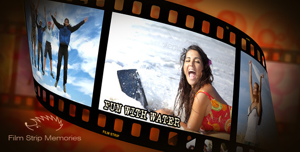 After Effects Project - VideoHive Film Strip Memories 186955