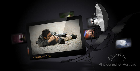 After Effects Project - VideoHive Photographer Portfolio 1541704