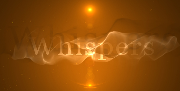 After Effects Project - VideoHive Whispers Opener 195572
