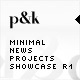 AS2 XML Minimal News/Projects Showcase R1 - ActiveDen Item for Sale