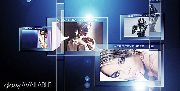 After Effects Project - VideoHive Glassy 206314