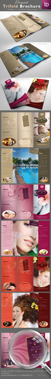 GraphicRiver Elegant Trifold Brochures 1484774