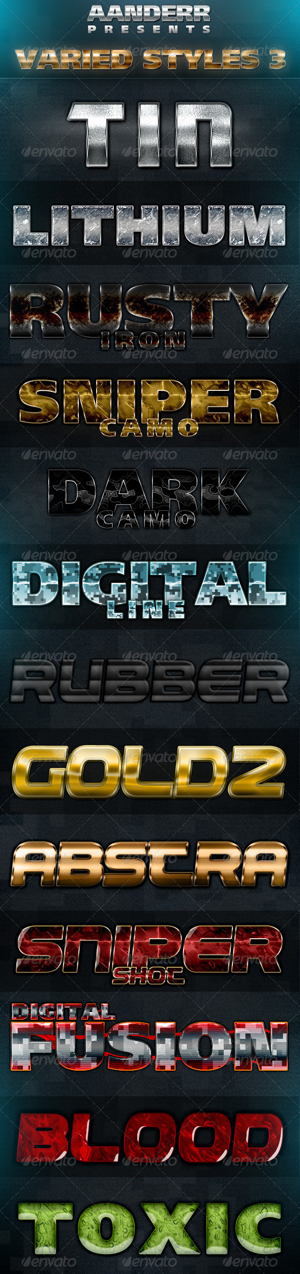 GraphicRiver Varied Styles 3 1760460