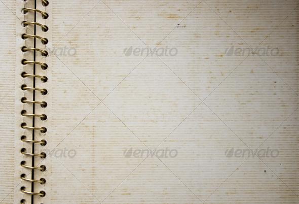 GraphicRiver Old spiral bind album 68535