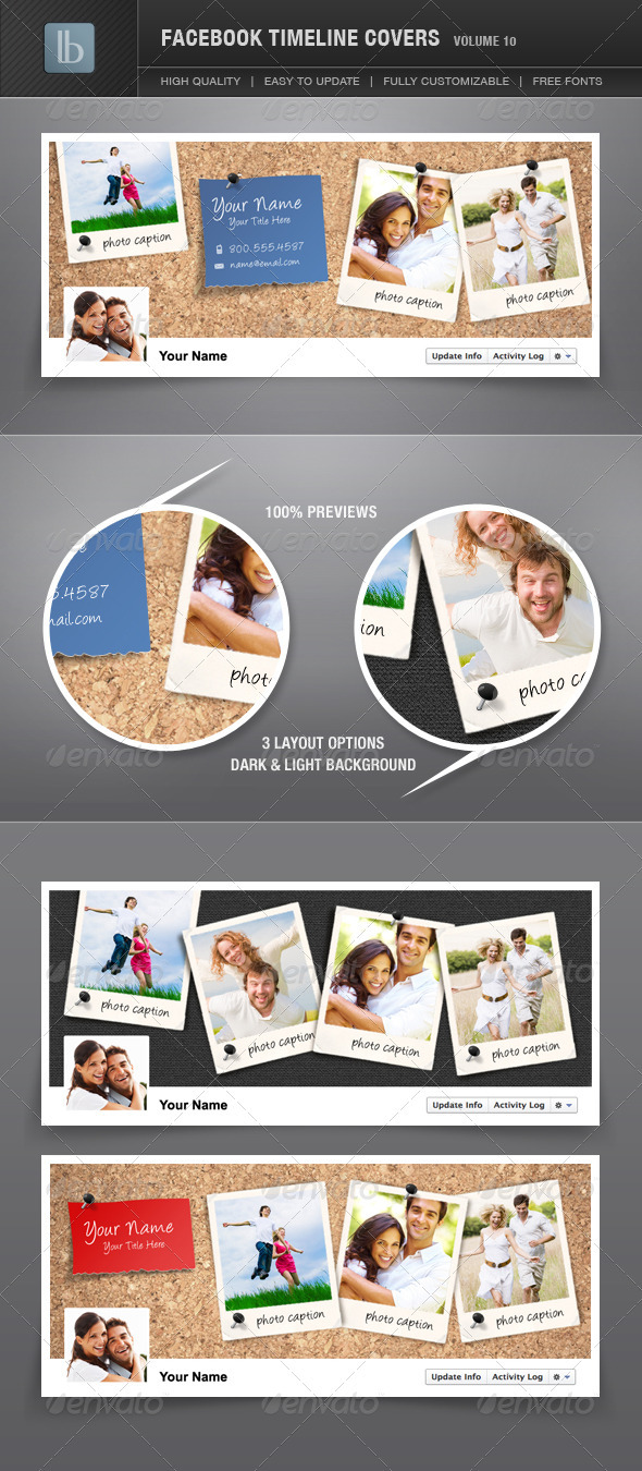 GraphicRiver Facebook Timeline Covers Volume 10 1761448