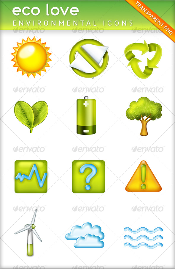GraphicRiver eco love 67982