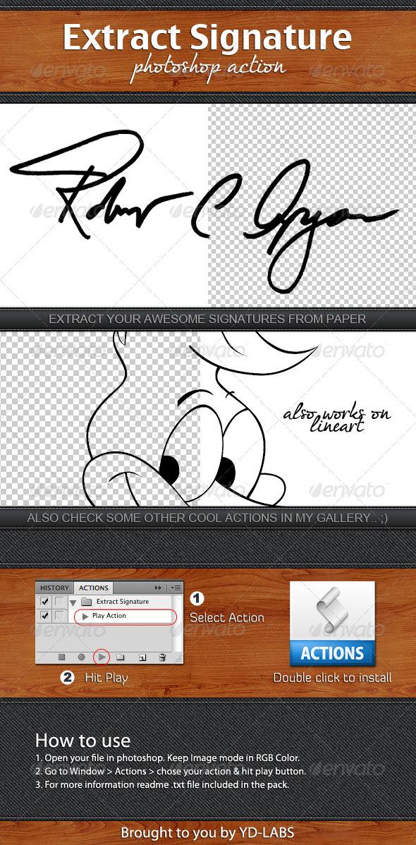 GraphicRiver Extract Signature 1736087