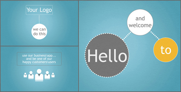 VideoHive Clean Business App Service Promotion 1765582