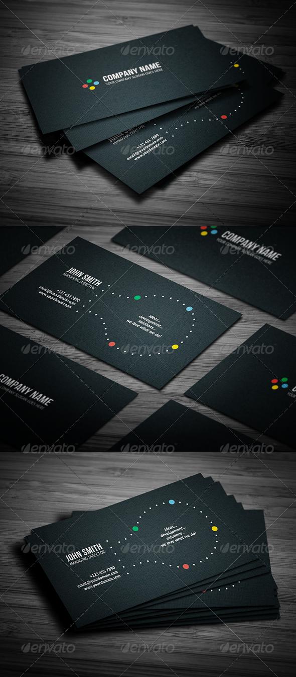 GraphicRiver Creative Business Card 1378606