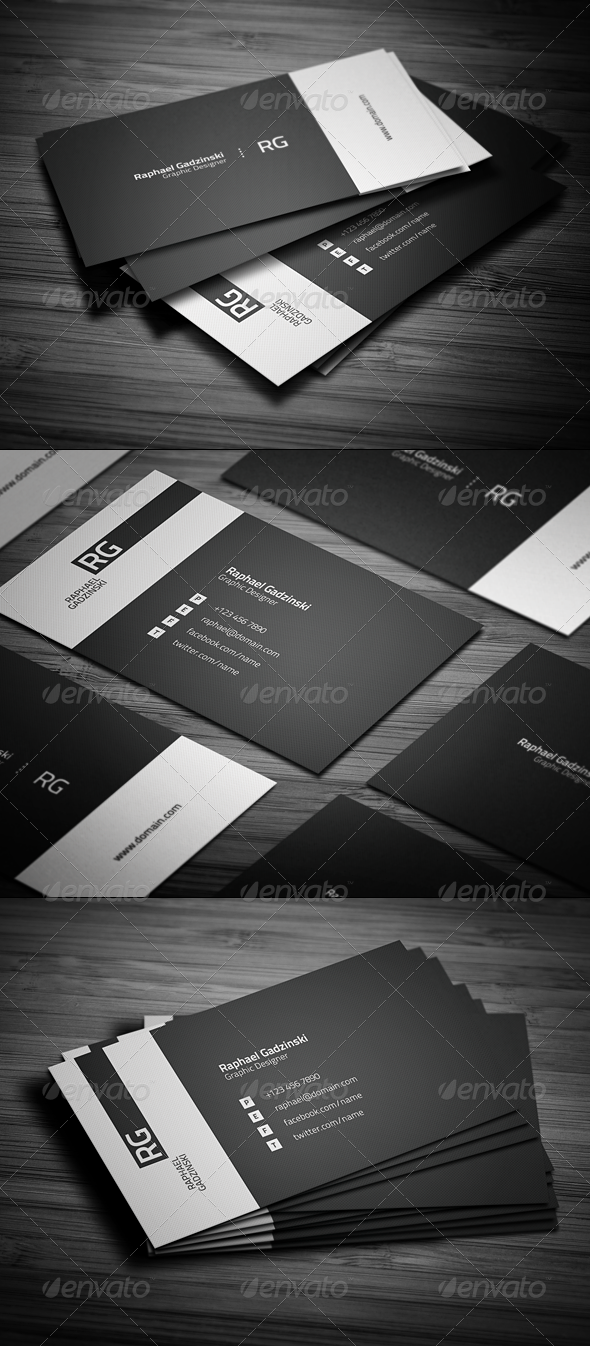 GraphicRiver Simple Business Card 1099811