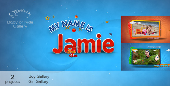 After Effects Project - VideoHive Baby or Kids Gallery 1365914