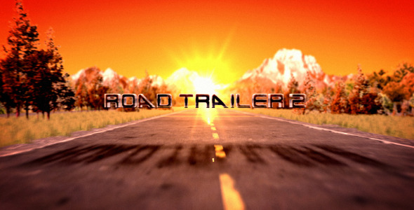 After Effects Project - VideoHive Road Trailer 2 1747111