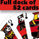Full set of 52 playing cards - GraphicRiver Item for Sale