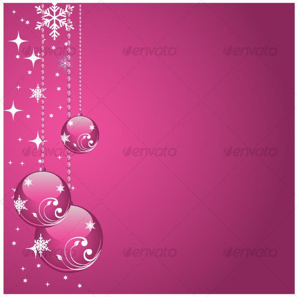 GraphicRiver Pink balls 68970