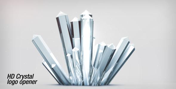VideoHive Crystal Logo Opener HD 1745993