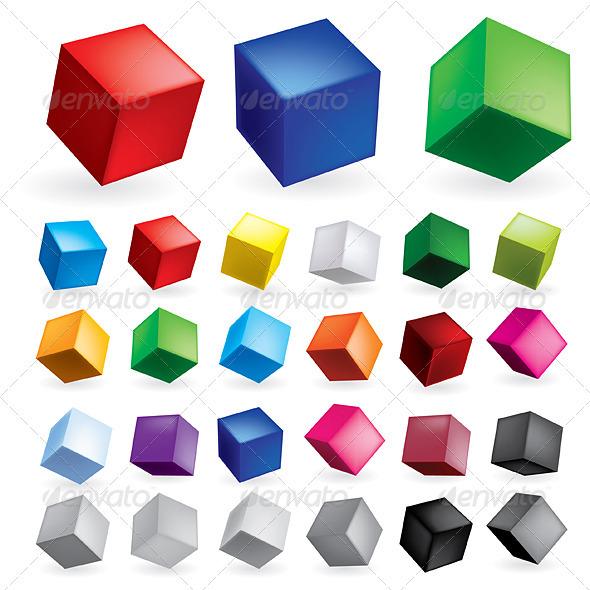 GraphicRiver Cubes 1775835