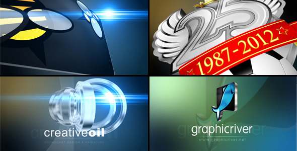 After Effects Project - VideoHive Fast & Flashy 3D Logo Stinger Opener 1766 ...