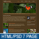 Earth Nature - 7 page HTML theme - ThemeForest Item for Sale