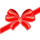 Vector red bow - GraphicRiver Item for Sale