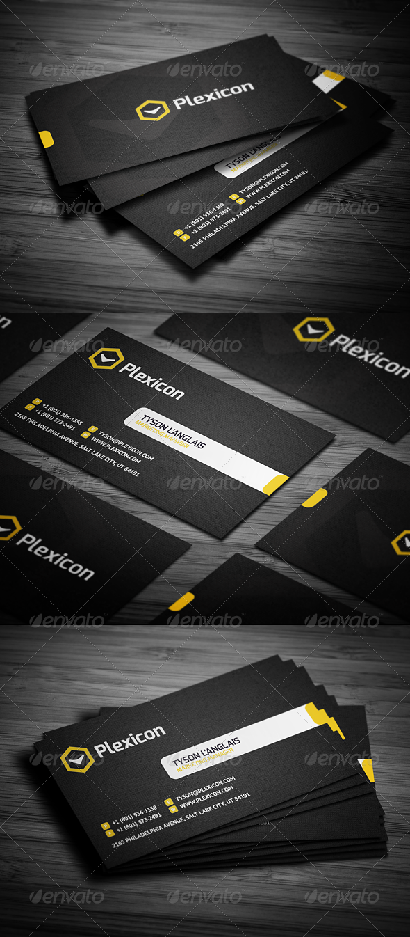 Graphic River Stylish Business Card Print Templates -  Business Cards  Corporate 1778907