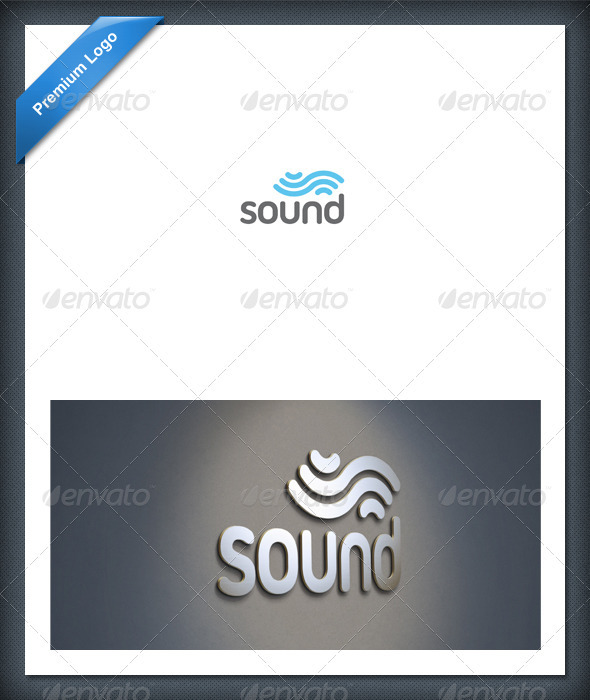 Graphic River Sound and Audio Logo Template Logo Templates -  Abstract 1782842