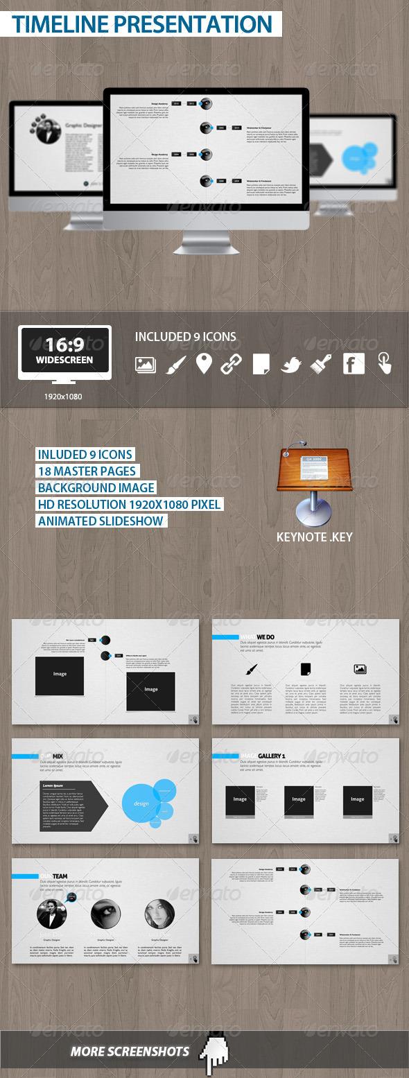 GraphicRiver Timeline Presentation 1784832