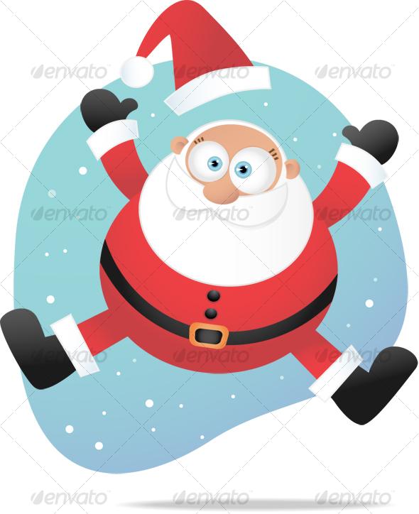 GraphicRiver Jumping Santa 67037