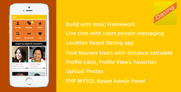 Dating app codecanyon nulled