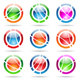 orbit icons - GraphicRiver Item for Sale