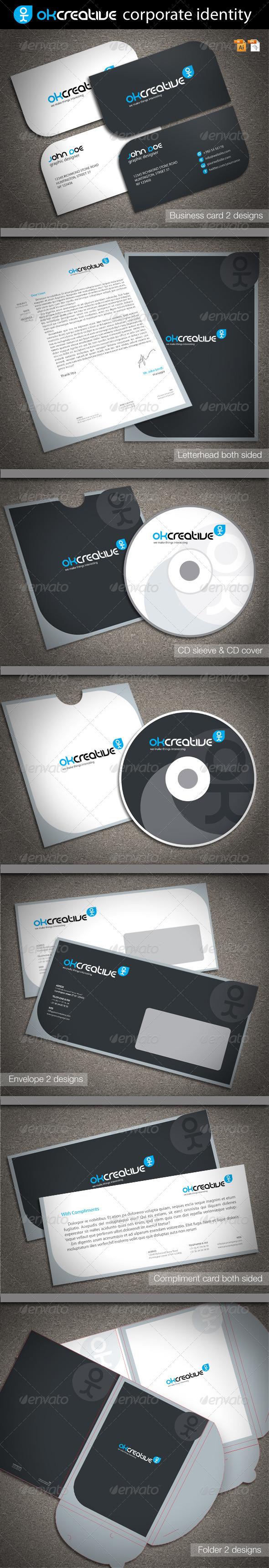 GraphicRiver OK Creative Corporate Identity 1791125