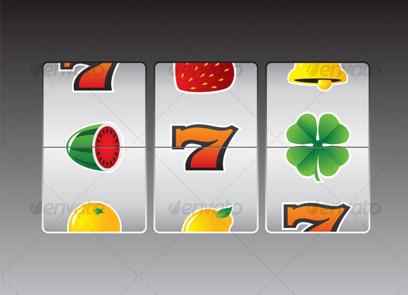 Graphic River Slot Machine 2 Vectors -  Miscellaneous 69877