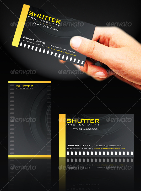 GraphicRiver FilmstripPro Business Card 69919