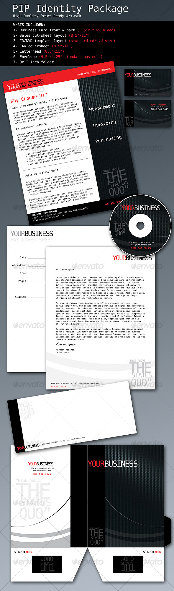 GraphicRiver PIP Corporate Identity Package 70251