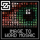 IMAGE TO WORD MOSAIC - ActiveDen Item for Sale