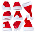 Santa's Hat set over white - PhotoDune Item for Sale