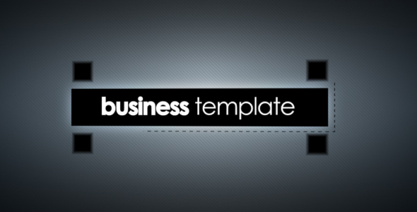 After Effects Project - VideoHive Business Template 212768