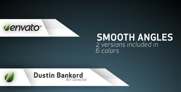 After Effects Project - VideoHive Smooth Angles Lower Third 1801712