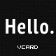 Hello VCard - ThemeForest Item for Sale