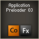 application preloader 03 - ActiveDen Item for Sale