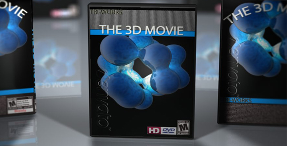 3DOcean DVD Cases with DOF 71283