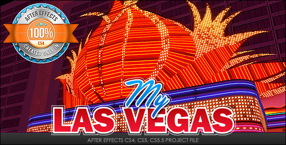 After Effects Project - VideoHive My Las Vegas 1837343